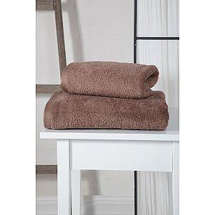 "Полотенце махровое ""KARNA APOLLO"", темно-коричневый"