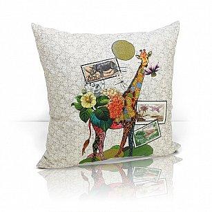 """Подушка декоративная """"Giraffe"""", дизайн 490"""