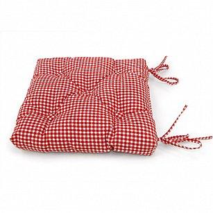 """Подушка на стул """"Red Kimberly"""", дизайн 630"""