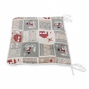 """Подушка на стул """"Santa"""", дизайн 660"""