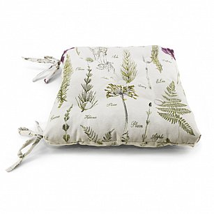 "Подушка на стул ""Botany"", дизайн 680"