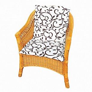 "Подушка на стул со спинкой ""Bindweed"", дизайн 100"