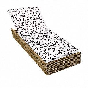 """Подушка на шезлонг """"Bindweed"""", дизайн 190"""