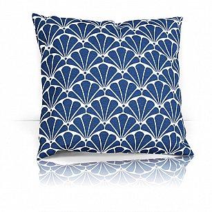 """Подушка декоративная """"Blue Garden"""", дизайн 140"""