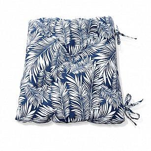 "Подушка на стул ""Blue Palma-S"", дизайн 150"