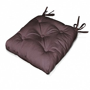 "Подушка на стул ""Brown"", дизайн 140-A"
