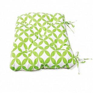 "Подушка на стул ""Green Round-S"", дизайн 150"