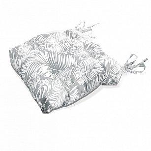 "Подушка на стул ""Grey Palma-S"", дизайн 150"