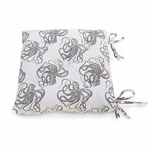 "Подушка на стул ""Octopus"", дизайн 610"