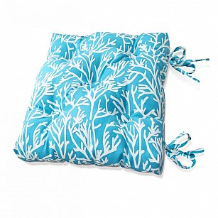 """Подушка на стул """"Sky Corals-S"""", дизайн 150"""