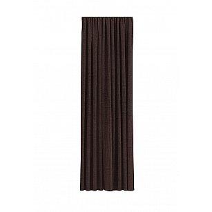 """Комплект штор рогожка """"Волшебная Ночь"""", шоколад, 200*270 см"""