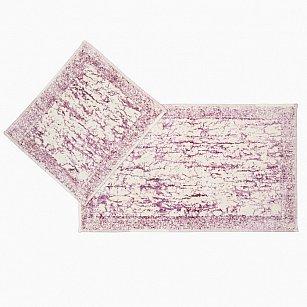 Набор ковриков для ванной Arya Tropik (60*100 см; 50*60 см), сухая роза
