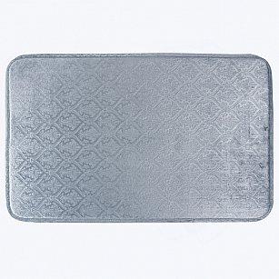 Коврик для ванной Arya Wellsoft Belonomi, голубой, 50*80 см
