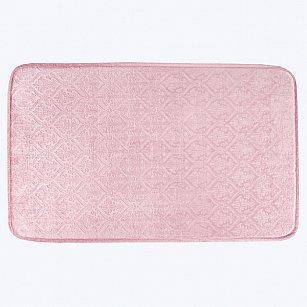 Коврик для ванной Arya Wellsoft Belonomi, розовый, 50*80 см
