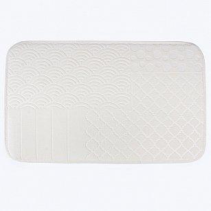 Коврик для ванной Arya Wellsoft Clamence, экрю, 50*80 см