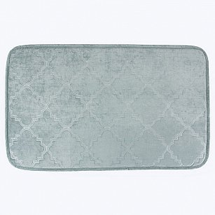 Коврик для ванной Arya Wellsoft Mirabel, бирюзовый, 50*80 см