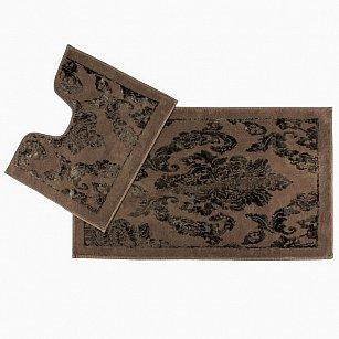 Набор ковриков для ванной Arya Osmanlı (60*100 см; 50*60 см), коричневый