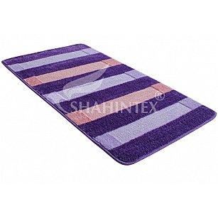 Коврик Shahintex PP MIX LUX, фиолетовый 61, 50*120 см