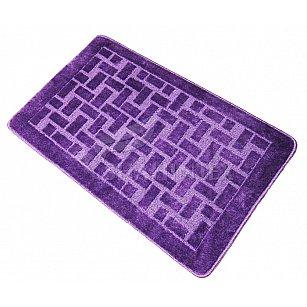 Коврик Shahintex PP, фиолетовый 61