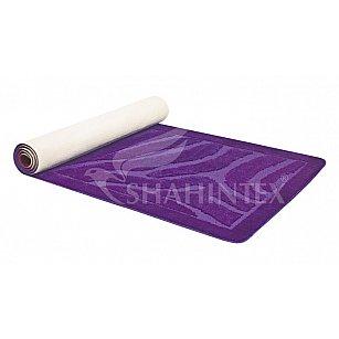 Коврик Shahintex PP ПВХ ролик, фиолетовый 61, 80*200 см