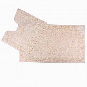 Набор ковриков для ванной Arya Eskitme (60*100 см; 50*60 см), слоновая кость