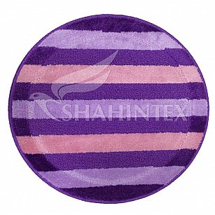Коврик Shahintex PP MIX LUX, фиолетовый, 66 см