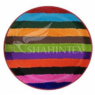 Коврик Shahintex PP MIX LUX, радуга, 66 см