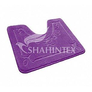 Коврик Shahintex ЭКО (U-type), фиолетовый 61, 60*50 см