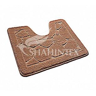 Коврик Shahintex ЭКО (U-type), кофе с молоком 55, 60*50 см