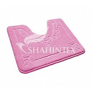 Коврик Shahintex ЭКО (U-type), розовый 64, 60*50 см