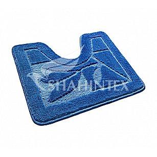 Коврик Shahintex ЭКО (U-type), синий 56, 60*50 см