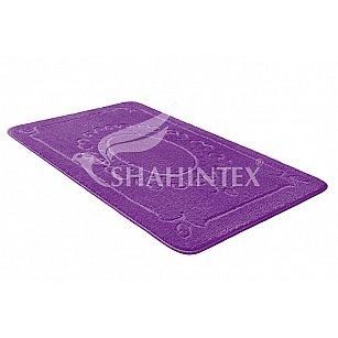Коврик Shahintex ЭКО, фиолетовый 61, 60*90 см