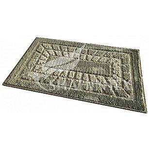 Коврик универсальный Shahintex Mosaic, оливковый 15, 45*75 см