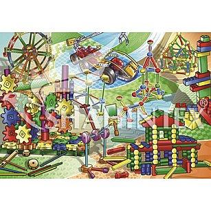 Коврик универсальный Shahintex Spring Photoprint SH P117, 100*145 см