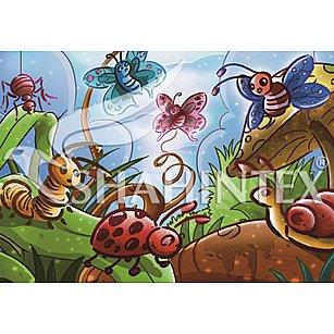 Коврик универсальный Shahintex Spring Photoprint SH P119, 100*145 см