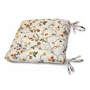 "Подушка на стул ""Laurelle"", оранжевый"
