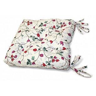 "Подушка на стул ""Laurelle"", малиновый"