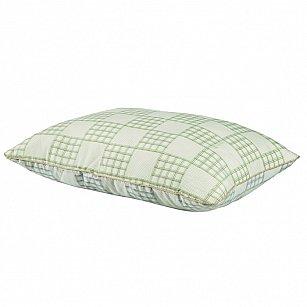 Подушка Climat Control, бархатный серый, зеленая олива, 50*70 см