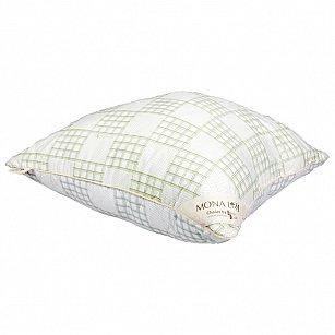 Подушка Climat Control, бархатный серый, зеленая олива, 70*70 см