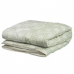 Одеяло Chalet Climat Control, бархатный серый, зеленая олива