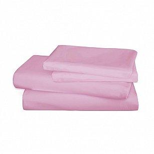 Простынь сатин Mona Liza Premium Pink