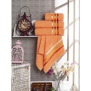Комплект из 4-х махровых полотенец Vevien Ekonomik (50*90; 70*140), персиковый