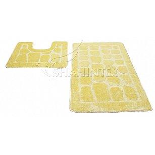 Набор ковриков Shahintex PP, кремовый 3