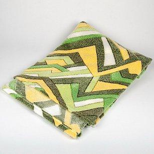 Плед Бамбук Ромбы, зеленый, 180*200 см