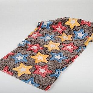 Плед Бамбук Звезды цветные, 180*200 см