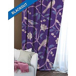 Шторы Этно Блэкаут Fairy Forest, фиолетовый