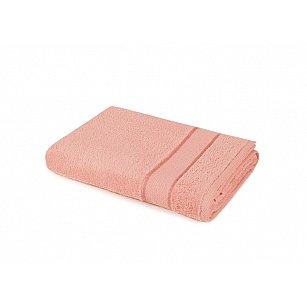 "Полотенце ""Aquarelle Весна"", розово-персиковый"