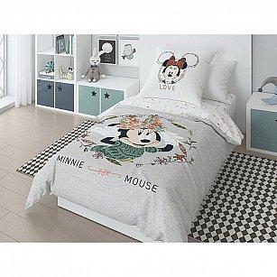 """КПБ поплин """"Minnie"""", рисунок 20027+8369/1 01"""