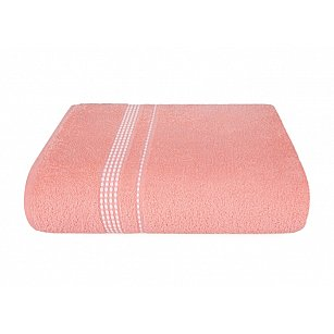 "Полотенце ""Aquarelle Лето"", розово-персиковый"