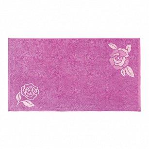 """Полотенце """"Aquarelle Розы-1"""", нежно-розовый, орхидея"""